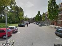 Ambulance naar Van der Horststraat in Delft