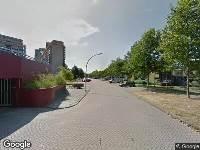 112 melding Brandweer naar Eemstein in Zwijndrecht vanwege gebouwbrand