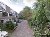 112 melding Ambulance naar Ridderhoflaan in Koudekerk aan den Rijn