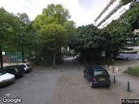 112 melding Besteld ambulance vervoer naar Titus Brandsmastraat in Rijswijk vanwege brand
