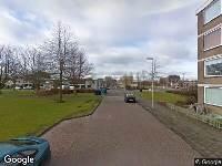 Ambulance naar Crabethstraat in Maassluis
