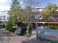 112 melding Ambulance naar Liszthof in Alphen aan den Rijn