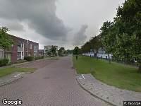 112 melding Brandweer naar Annie Westlandstraat in Leeuwarden