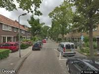 Brandweer naar Saenredamstraat in Zaandam