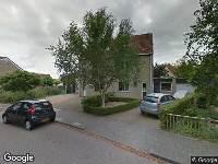 Brandweer en politie naar Prins Bernhardlaan in Middelharnis