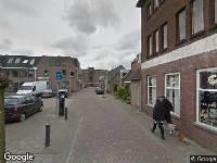 112 melding Ambulance naar Van Doorenstraat in Tilburg