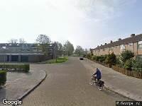 112 melding Ambulance naar Johannes Brinkostraat in Den Helder