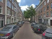 Ambulance naar Tweede Jacob van Campenstraat in Amsterdam