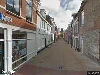 112 melding Brandweer naar Kruisstraat in Leeuwarden