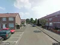 Ambulance naar Jacob Jordaensstraat in Helmond