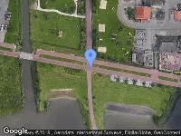 112 melding Brandweer naar Ubbo Emmiuslaan in Leeuwarden vanwege gebouwbrand