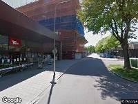 112 melding Ambulance naar Paletplein in Tilburg