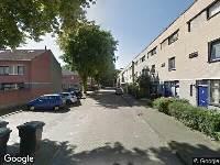 112 melding Ambulance naar Stoeterijstraat in Tilburg