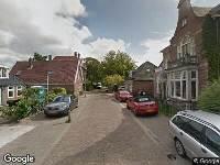 Brandweer naar Dorpsstraat in Broek op Langedijk