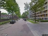 112 melding Ambulance naar Wethouderslaan in Tilburg