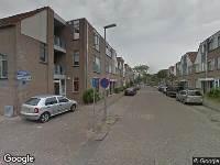 Ambulance naar Hillenraadstraat in Rotterdam