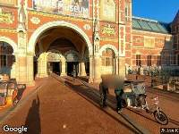 112 melding Ambulance naar Museumstraat in Amsterdam