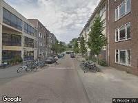 112 melding Brandweer naar Ben Viljoenstraat in Amsterdam