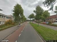 Brandweer naar Laan van Parijs in Alkmaar