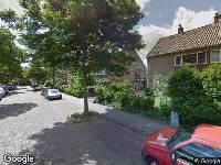112 melding Brandweer naar Willem van Gulikstraat in Arnhem
