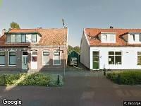 Brandweer naar Bakkummerstraat in Castricum
