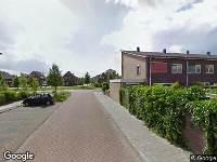 112 melding Brandweer naar Tijmstraat in Assen vanwege brand