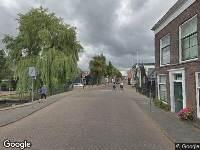 Brandweer naar Westzijde in Zaandam vanwege brand