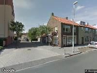 112 melding Brandweer naar Willem Barentszstraat in Den Helder vanwege brand