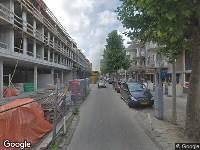 Brandweer naar Eerste Oosterparkstraat in Amsterdam vanwege verkeersongeval
