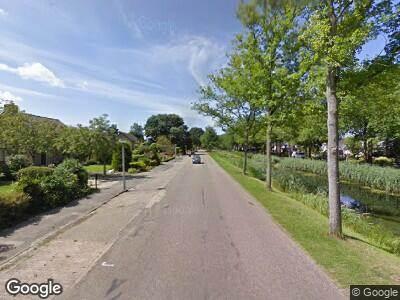 Ambulance naar Zandvaart in Breezand vanwege verkeersongeval