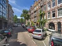 Brandweer naar Ter Haarstraat in Amsterdam