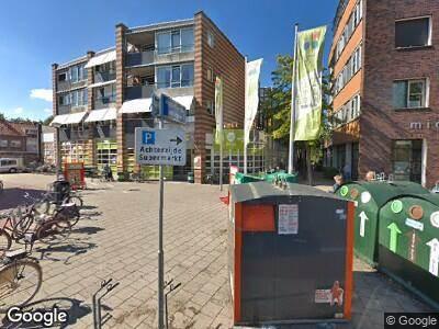 Ambulance naar Marga Klompépassage in Gouda