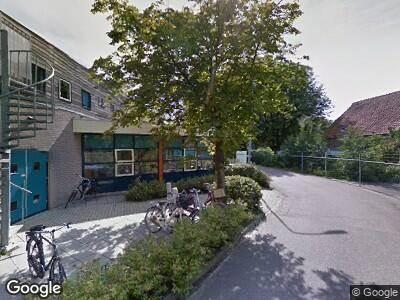 Ambulance naar Blauwe Berg in Hoorn vanwege verkeersongeval
