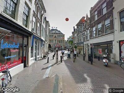 Ambulance naar Wijdstraat in Gouda