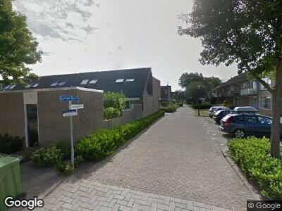 Traumahelikopter naar Burgemeester Hammerbaan in Oud-Beijerland