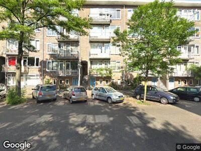 Ambulance naar Egidiusstraat in Amsterdam