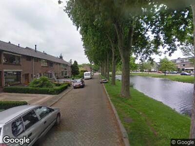 Ambulance naar Leeuweriksingel in Sliedrecht