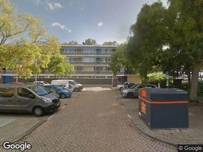 Ambulance naar Otto Verdoornplaats in Rotterdam
