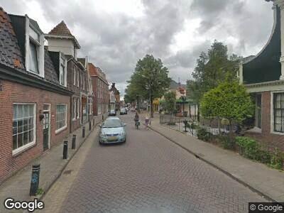 Ambulance naar Raadhuisstraat in Koog aan de Zaan
