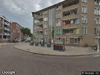 Brandweer naar Iepenweg in Amsterdam