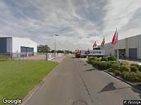 Ambulance naar Schrijnwerkersweg in Den Helder