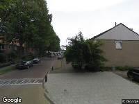 112 melding Besteld ambulance vervoer naar Thorbeckelaan in Waalwijk