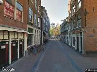 Brandweer naar Bloedstraat in Amsterdam