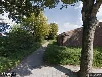 112 melding Brandweer naar Toscanestraat in Alkmaar vanwege een buitenbrand