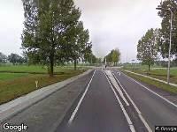 112 melding Brandweer naar Provincialeweg N214 in Wijngaarden