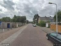 Ambulance naar Robijnstraat in Leiden