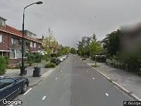 112 melding Politie naar Stooplaan in Dordrecht