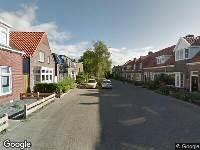 Brandweer naar Matthias van Pellicomstraat in Leeuwarden vanwege brand