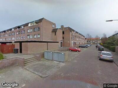 Brandweer naar Meindert Hobbemastraat in Dordrecht vanwege een buitenbrand