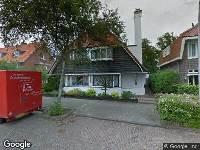112 melding Ambulance naar Hugo de Grootlaan in Heemstede